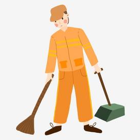 مطلوب عامل نظافة