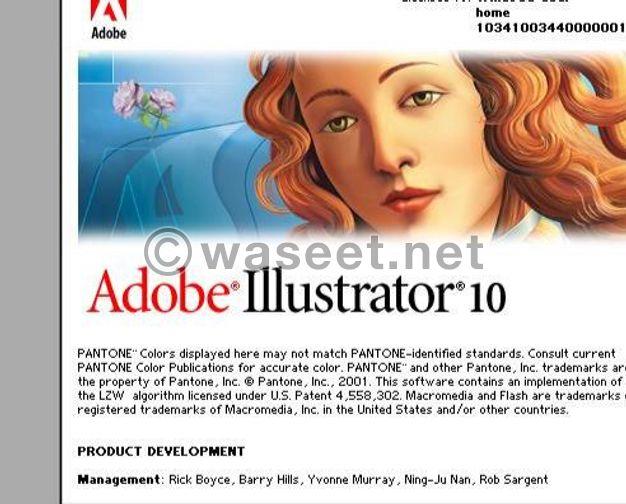مطلوب مصمم جرافيك قديم  برامج الكمبيوتر الاصدارات القديمه ادوبي