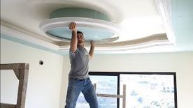 Required gypsum board teacher and for celling