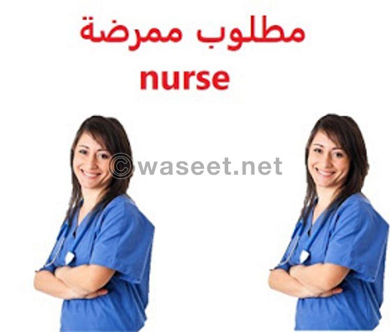 مطلوب ممرضة للعناية بسيدة مسنة مريضة  زهايمر