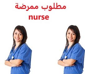 مطلوب ممرضة مقيمة برعاية مسنين