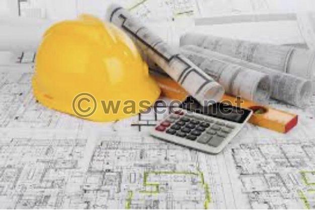 مطلوب مهندسين مدني و عماره يشترط خبره بتصميم و تنفيذ حمامات السباحه و اعمال الاندسكيب