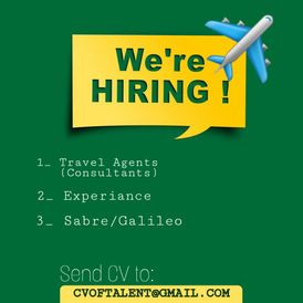 Wanted Employee in Travel Office