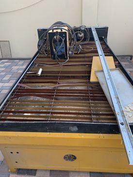معدات صناعية للحديد والالومنيوم ورشة كاملة