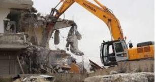 معدات لهدم المباني وتكسير الفلل 3