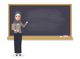 معلمة أردنية لتدريس مرحلة الابتدائية