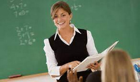 Teacher studying all subjects 5