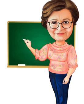 معلمة تربوية تخصص لغة فرنسية