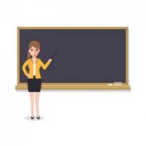 معلمة متابعة الواجبات