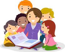 معلمة مصرية لتدريس وتأسيس الطلاب