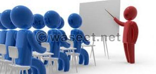 معلم مصري خبرة في تدريس جميع المواد