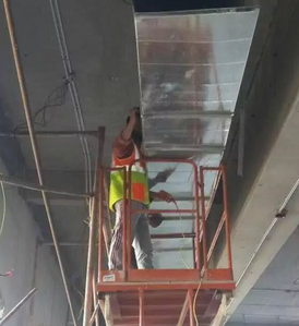 Experienced contractor in the installation of central air conditioning ducts 15