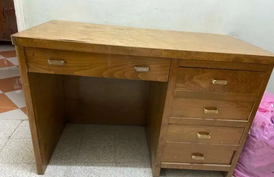 مكتب خشب زان 13