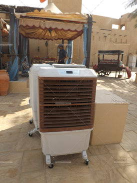 Outdoor Air Conditioners, Air Coolers for Rent in Dubai, Abu Dhabi, United Arab Emirates.