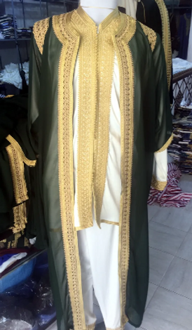 Luxurious traditional Moroccan clothes