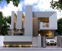 Architect interior and exterior design for remote work