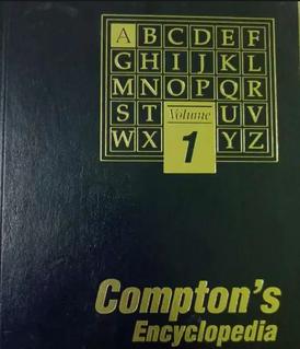 موسوعة كومبتون للبيع