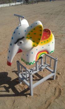 هزاز شكل فيل متعدده المقاسات لكافه الاغراض...