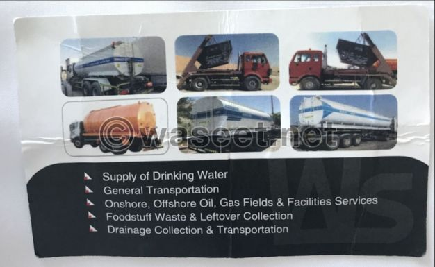 Services Supply of water and sewage