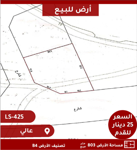 Land for sale in Aly