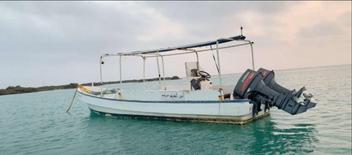 قارب الفردان 7 متر موديل 2017