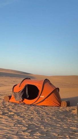 خيمة المبيت الشتوية