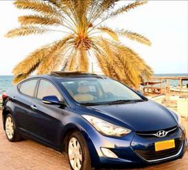 هيونداي النترا ٢٠١٤ نظيفة جدا من وكالة عمان للبيع