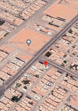 ارض تجاريه سكنيه للبيع زاويه حي اليرموك