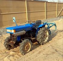 للبيع حراثه او جرار زراعي فورويل 4×4