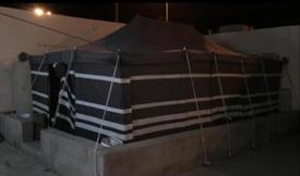 للبيع خيمة في الحايط