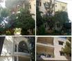 بناء ٣ طوابق مع حديقة كبيرة