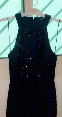 فستان كحلي سمول وينلبس ميديم