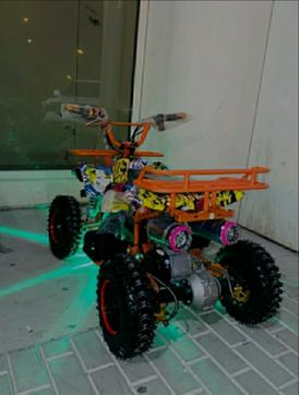 سكوتر كهربائي 4 عجلات