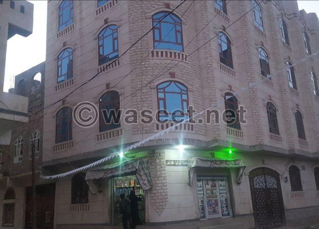 عمارة للبيع في صنعاء شارع مارب