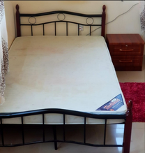 Bed with Camdino for sale 250