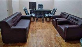 غرفة مكتب كاملة وانترية جلد