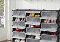 خزائن ملابس وأحذية من البلاستيك المقوى 1