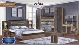 غرفة نوم جديدة بدولاب كبير بسعر مخفض