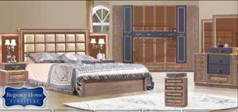 غرفة نوم راقية بدولاب كبير