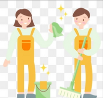 Cleaning & Cleaning Floors