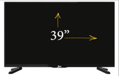 شاشة جاك 39 بوصة FHD للبيع