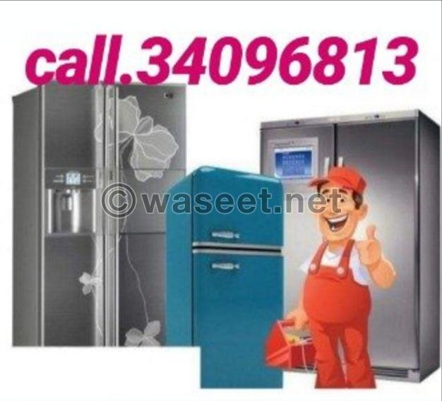 Service Repairing All Type AC Refrigerators Washing Machine