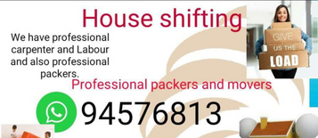 best packers and movers. house villa flats office and shop shifting.