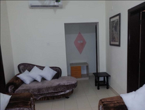 fully furnished flat for rent in muharraq 80m