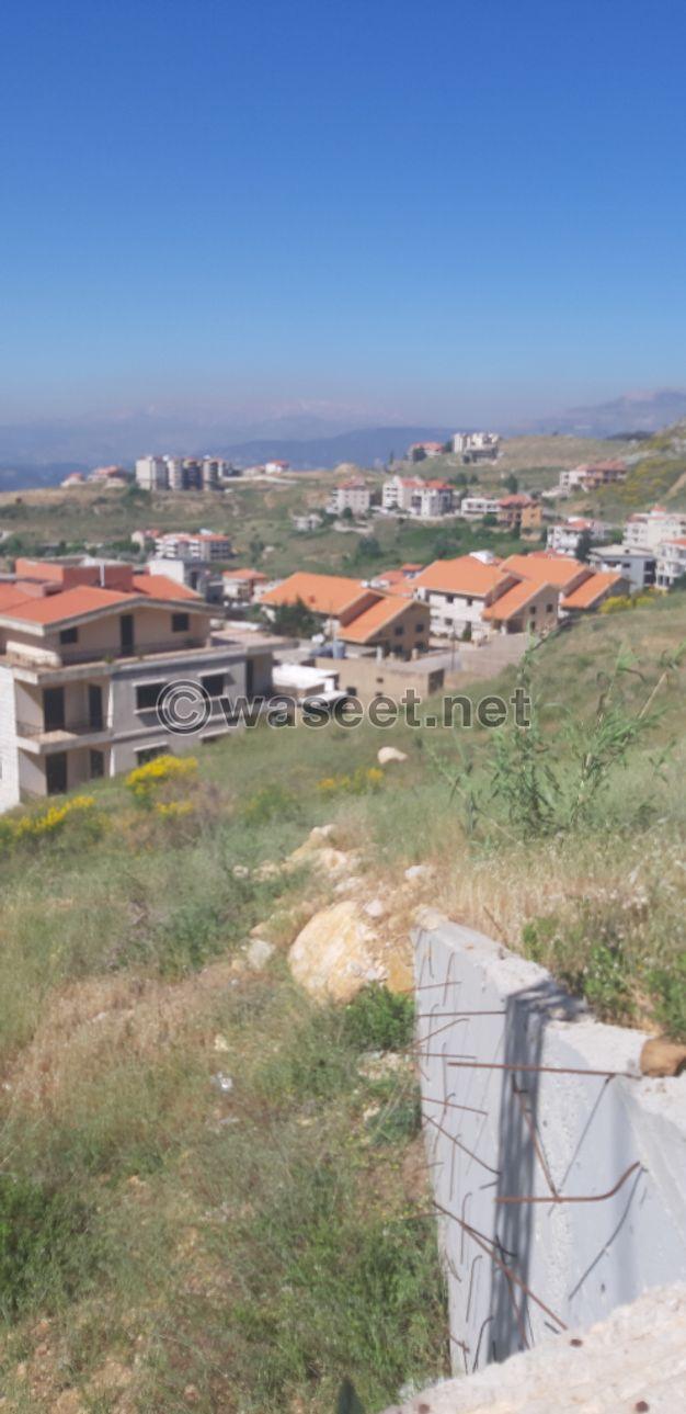 ارض للبيع في بحمدون 3981 م