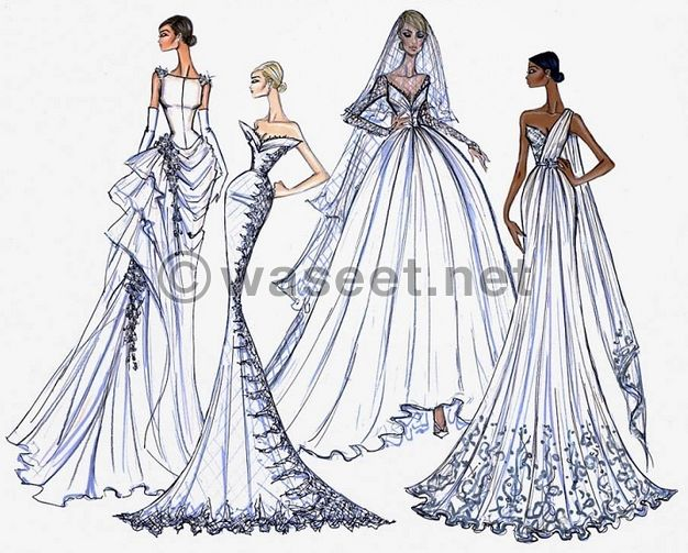 Fashion Croquis Drawer