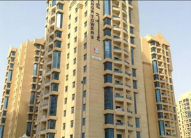 1BHK FOR RENT IN ALKHOR TOWERS