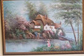 للبيع ، لوحات فنية أصلية رسم زيت لفنانين إنجليز 2