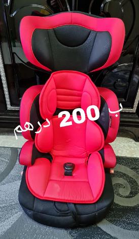 2 كرسي أطفال للسيارة للبيع