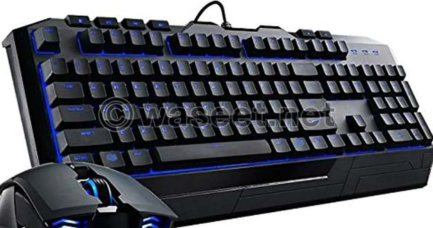 2 gaming keyboard and mouse